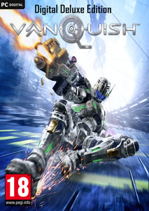 Packaging of Vanquish Digital Deluxe Edition [PC]