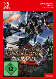Verpackung von Monster Hunter Generations Ultimate [Switch]