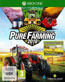 Verpackung von Pure Farming 2018 - Landwirtschaft weltweit D1 Edition [Xbox One]