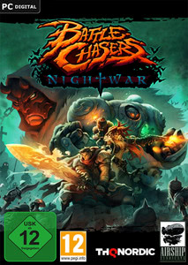 Packaging of Battle Chasers: Nightwar [PC]