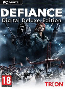 Packaging of Defiance Digital Deluxe Edition Upgrade [PC]