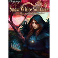 Packaging of Snow White Solitaire. Charmed Kingdom [PC / Mac]
