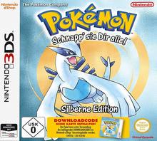 Verpackung von Pokémon Silber (Code in Box) [3DS]