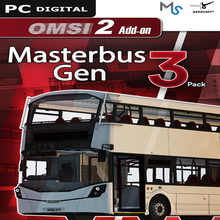 Packaging of OMSI 2 Add-on Masterbus 3 Pack [PC]