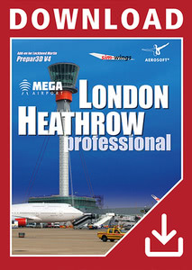 Packaging of Prepar3D V4 Mega Airport London Heathrow professional [PC]