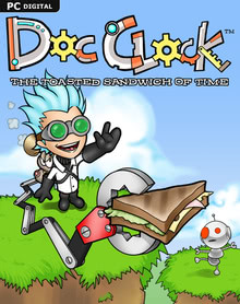 Packaging of Doc Clock: The Toasted Sandwich of Time [PC]