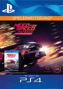 Verpackung von Need for Speed: Payback Deluxe Upgrade DLC [PS4]