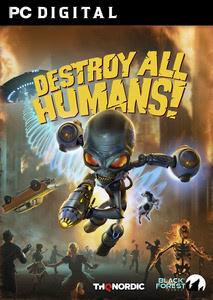 Verpackung von Destroy all Humans [PC]