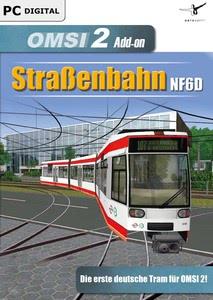 Verpackung von OMSI 2 Add-On Straßenbahn NF6D Essen Gelsenkirchen [PC]