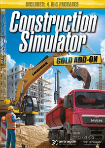 Packaging of Construction Simulator 2015 Gold Add-on Gold Add-on [Mac]