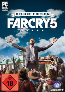 Verpackung von Far Cry 5 Deluxe Edition [PC]