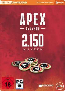 Verpackung von Apex Legends 2150 Coins [PC]