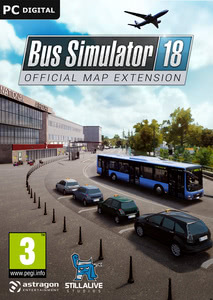 Packaging of Bus Simulator 18 Official Map Extension [PC]