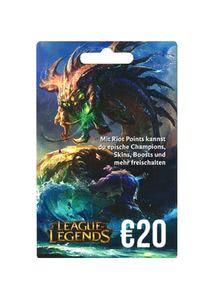 Verpackung von League of Legends Guthaben 20 Euro [PC / Mac]