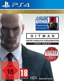Verpackung von HITMAN Die komplette erste Season [PS4]
