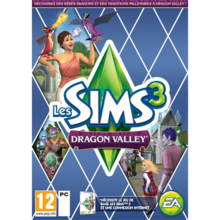 Packaging of The Sims 3 Dragon Valley Add-On [PC]