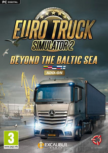 Packaging of Euro Truck Simulator 2 Beyond the Baltic Sea [PC / Mac]