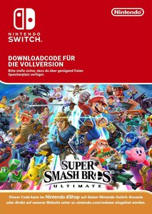Verpackung von Super Smash Bros Ultimate [Switch]