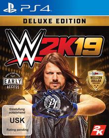 Verpackung von WWE 2K19 Deluxe Edition [PS4]