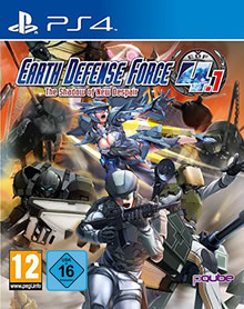 Verpackung von Earth Defense Force 4.1: The Shadow of New Despair [PS4]