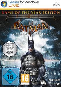 batman arkham asylum game of the year edition pc steam code online bestellen. Black Bedroom Furniture Sets. Home Design Ideas