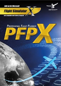 Packaging of FSX PFPX: Professional Flight Planner X [PC]