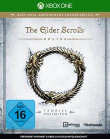 Verpackung von The Elder Scrolls Online: Tamriel Unlimited [Xbox One]