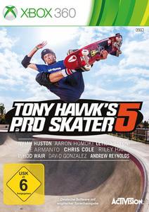 Verpackung von Tony Hawk's Pro Skater 5 [Xbox 360]