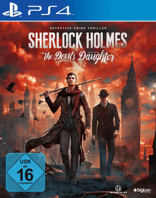 Verpackung von Sherlock Holmes: The Devil's Daughter [PS4]