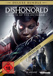 Verpackung von Dishonored: Der Tod des Outsiders + Dishonored 2 Deluxe Bundle [PC]