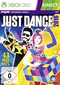 Verpackung von Just Dance 2016 [Xbox 360]