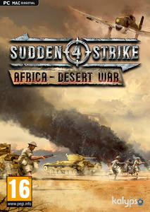 Packaging of Sudden Strike 4 Africa Desert War [PC / Mac]