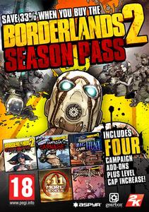 Packaging of Borderlands 2 Season Pass [Mac]