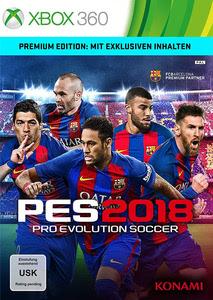 Verpackung von Pro Evolution Soccer 2018 Premium Edition [Xbox 360]
