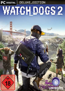 Verpackung von Watch Dogs 2 Digital Deluxe Edition [PC]