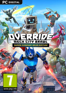 Packaging of Override: Mech City Brawl Super Mega Charged Edition [PC]