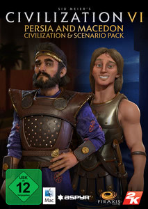 Verpackung von Sid Meier's Civilization VI Persia and Macedon Civilization & Scenario Pack [Mac]