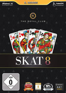Verpackung von The Royal Club: Skat 8 [PC]