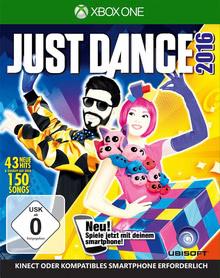 Verpackung von Just Dance 2016 [Xbox One]
