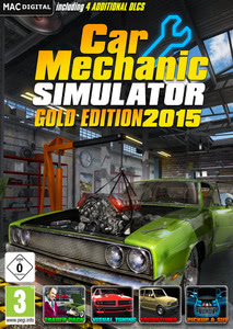 Packaging of Car Mechanic Simulator 2015 - Gold [Mac]