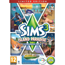 Packaging of The Sims 3 Island Paradise Limited Edition [Mac]