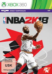 Verpackung von NBA 2K18 DayOne Edition [Xbox 360]