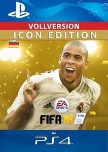 Verpackung von Fifa 18 Icon Edition [PS4]
