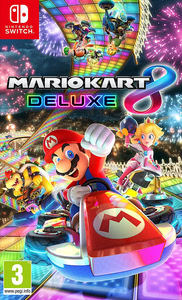 Packaging of Mario Kart 8 Deluxe [Switch]