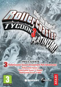 Packaging of RollerCoaster Tycoon 3 Platinum [Mac]