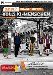 Verpackung von OMSI 2 Downloadpack Vol. 3 - KI Menschen [PC]