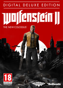 Packaging of Wolfenstein II: The New Colossus Digital Deluxe Edition [PC]