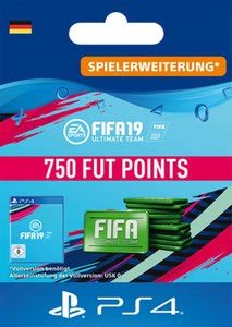 Verpackung von Fifa 19 750 FUT Points Pack - Ultimate Team [PS4]