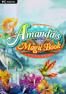 Packaging of Amanda's Magic Book [PC]