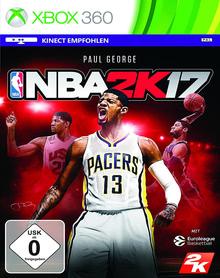Verpackung von NBA 2K17 [Xbox 360]